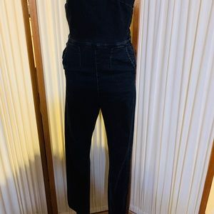 Free people overalls faded black